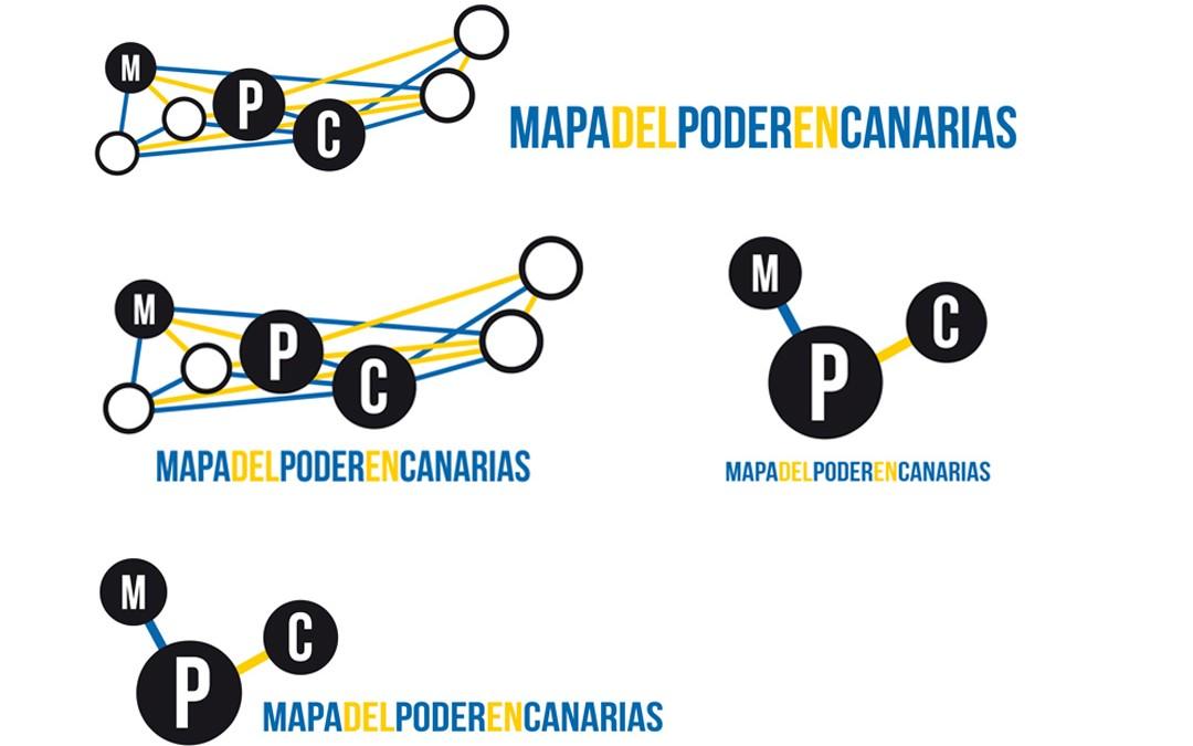 Logotipo Mapa del poder