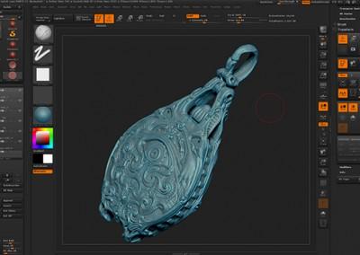 Modelado orgánico 3d para el diseño y fabricación digital mediante Zbrush y Meshmixer. Aplicaciones creativas.