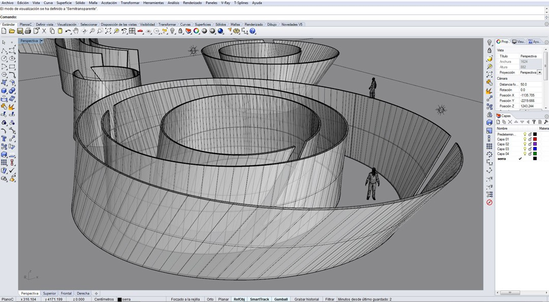 Diseño paramétrico y fabricación digital mediante Rhinoceros y Autodesk Inventor. Aplicaciones creativas.