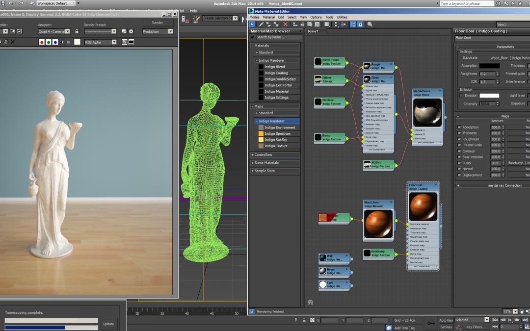 Modelado, texturizado y animación con 3ds Max