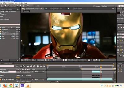 Edición y postproducción para la animación 3D