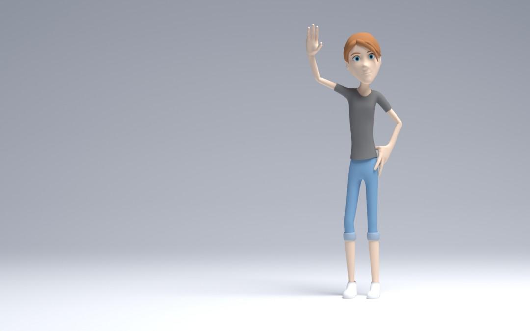 Diseño de personajes 3D para videojuegos con Blender